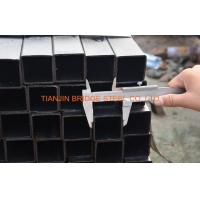 Buy 4 Inch Black Square Steel Pipe , ASTM A500 Square Hollow Section Steel Tube at wholesale prices