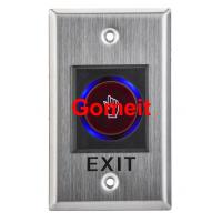 Quality Infrared Long Door Release Switch / Exit Button Recessed Mounted for sale