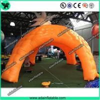 Quality Giant Inflatable Tent, Orange Inflatable Cube Tent, Event Spider Tent for sale