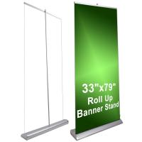 Quality Deluxe Pop Up Display Stands 6.5Kg Retractable Banner Displays for sale