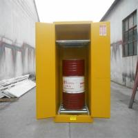 Quality 200 Litres Drum Storage Cabinets Customized Manual / Self Close Doors for sale