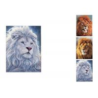 Quality PET / PP Wild Animal Lenticular Flip Effect / 3D Lenticular Printing Services for sale
