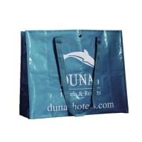 Quality Recycled PP-woven Laminated Shopping Bags , Glossy PP Woven Bags for Advertising for sale