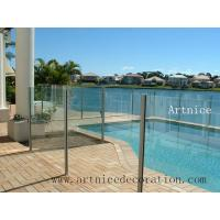 Quality Tempered / toughened glass for swimming pool fence, tempered / tougnened glass for swimming pool railing for sale
