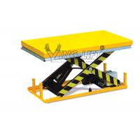 Quality Heavy Duty Stationary Lift Table Electric Scissor For Pharmaceutical Industry for sale