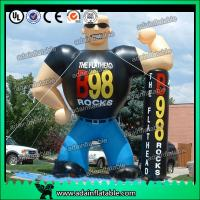 Quality The Gym Advertising Inflatable Muscle Man for sale