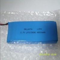 Quality 3.7V 4000mAh Lithium Ion Polymer Battery Pack For MP3 , MP4 for sale