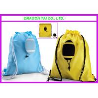 Quality Ball shape Drawstring backpack,  Rugby shape drawstring bag, Rugby shopping bag for sale