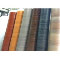 China Rigid Wood Grain Cabinet Covers Laminate Covering For Kitchen Cupboard Doors on sale