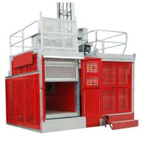 Quality Industrial Passenger Construction Material Hoist Elevator 2 Ton 0 ~ 60m/min for sale
