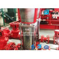 Quality Stainless Steel 40GPM Fire Jockey Pump For Office Buildings / Supermarkets for sale