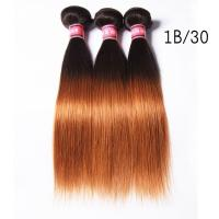 Buy Grade 7A Ombre Human Hair Extensions Ombre Brazilian Straight Hair at wholesale prices
