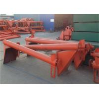 China High Speed Vertical Screw Conveyor Machine For Building Material Cement Powder on sale