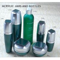 Quality 15ml 30ml 50ml 120ml series Cosmetics Packaging Skin Care Acrylic Cosmetic Bottle for sale