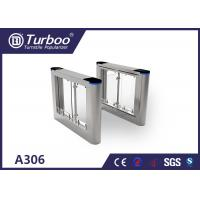Quality High security pedestrian swing barrier turnstile for Office building turnstiles for sale