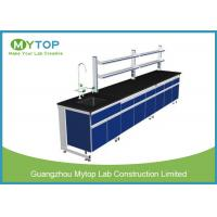 Quality University Laboratory Furniture Workstations For Chemical Research With Water Supply for sale