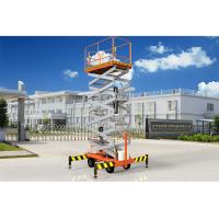 Quality Low Noise Mobile Aerial Work Platform One Man Lift For Indoor / Outdoor Construction for sale