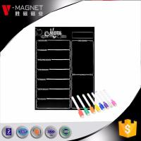 Buy magnetic dry erase planner flexible magnetic whiteboard for fridge China factory at wholesale prices