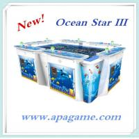 "Quality 10P ocean star 3 classical fish hunter game fishing shooting arcade indoor game with 55"" monitor game machine for sale"