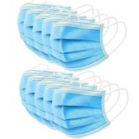 Quality Anti Virus 3 Ply Surgical Face Mask High Filtration Efficiency  Soft Lining for sale