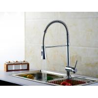 Buy Water Saving Singe Handle Pull out Spout Water Kitchen Sink Faucets Lifting Type at wholesale prices