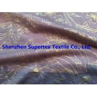 Quality High Fastness Gold Foil Print Cotton Jersey Resist Multiple Wash 183GSM for sale