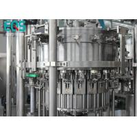 Buy cheap Low Temperature Carbonated Drink Filling Machine PET Bottle Famous Brand PLC Machine 6000 BPH from wholesalers