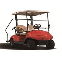 Quality 48V 3KW 2 Seater Golf Carts For Two Person Golf Courses In Coral Red Colour for sale