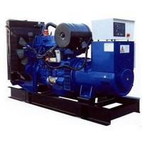 Quality Standby Power Generator 125KVA / 100KW Open Type With Radiator Cooling System for sale