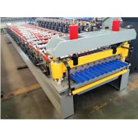 Buy cheap Corrugating Iron Roofing Sheet Making Machine Metal Roofing Equipment 8m/min - from wholesalers