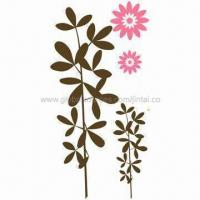 Quality Wall Stickers, Made of PVC and Vinyl, Suitable for Home Decoration, Available in Various Sizes for sale