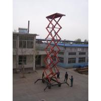 Quality 0.5 - 30T Loading Capacity small hydraulic scissor lift platform 220v 3KW 5kw for sale