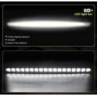 Buy Manufacturer Supply 8D 180w led light bars roof mount brackets, waterproof cree led light bar at wholesale prices