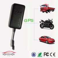 Quality Built - in Vibration Sensor Motorcycly / Vehicle GPS Tracker With Black Color for sale