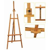 Quality Bamboo Adjustable Artist Painting Easel Tripod Stand For Painting OEM Avaliable for sale