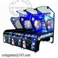 Quality Street Coin Operated Basketball Arcade Game Machine for sale