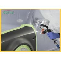 Quality Pre - Taped Multi - Folded Car Paint Masking Film With Auto Masking Tape for sale