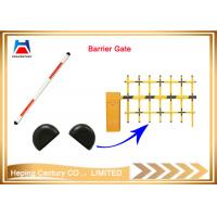 Quality PEACENTURY Automatic access control 2 fence boom parking barrier gate for sale