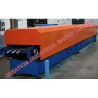 Quality Metal Rain Water Downpipe Panel Roll Former Machine with Auto Elbow Pipe Crimping Equipment for sale