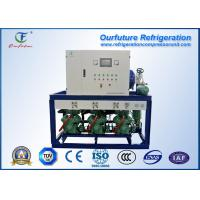 Buy Beef refrigeration R404a Bitzer brand screw type parallel compressor racks at wholesale prices