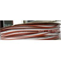 3*12mm white silicon weather strip, quality weather stripping in different size