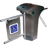 Intelligent double entry security full-height turnstiles gates