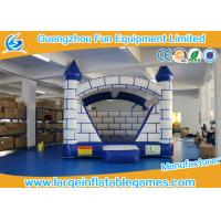 Quality Childrens Bouncy Castle Tarpaulin Provide For European , kids jumping castle for sale