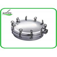 Buy Metal Stainless Steel Manhole Cover / Tank Manhole Cover For Pressure Vessel at wholesale prices