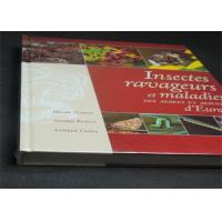 Quality Professional France Insects Hardcover Book Printing With Plastic Film for sale