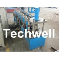 Quality Hydraulic Cutting, 8 - 11 Stations, Steel Angle Roll Forming Machine TW-L50 for sale