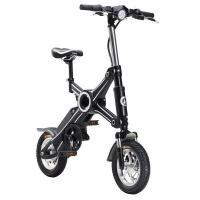 Quality 350 Watt Adult Foldable Electric Scooter / Bike Removable Battery 25KM Max Speed for sale