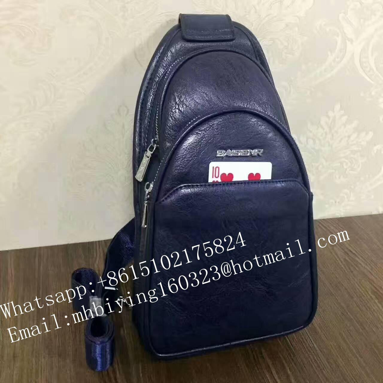Quality Black Poker exchange leather bag for gamble cheat/non marked poker cards/casino cheat/exchange cards/magic poker cards for sale