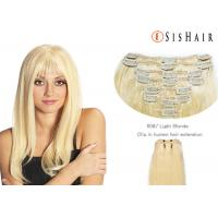 "Buy 26"" Human Hair Color Extensions / Blonde Hair Extensions Human Hair at wholesale prices"