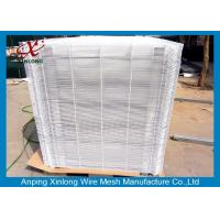 Buy cheap 3D Welded Stainless Steel Wire Mesh , Square Welded Wire Fabric 50x200mm from wholesalers